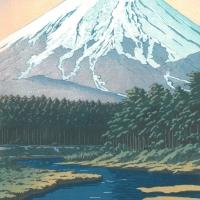 忍野の富士
